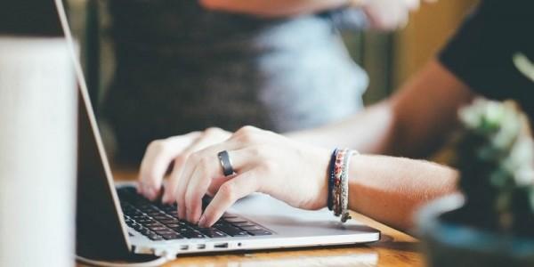 escribiendo en mac