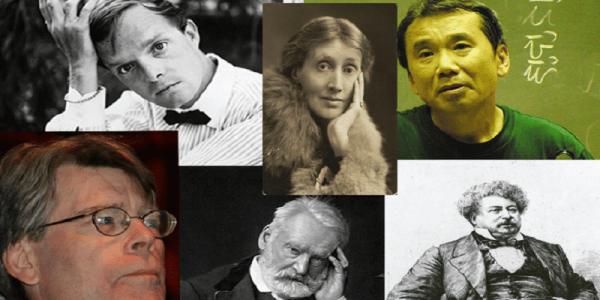 collage escritores