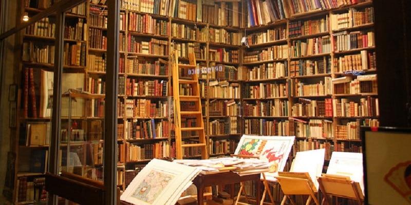 libreria antigua