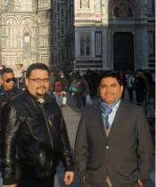 Danny Macancela y Juan Brito