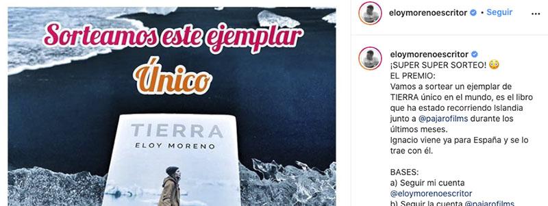 Instagram de Eloy Moreno